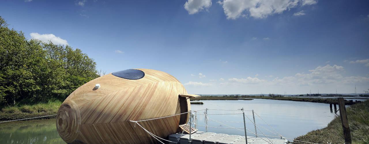 The Exbury Egg Modern houses by PAD studio Modern