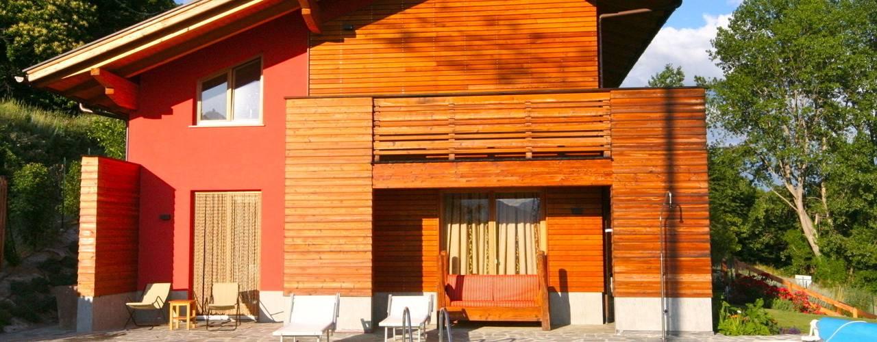 Casas de estilo  por Eddy Cretaz Architetttura
