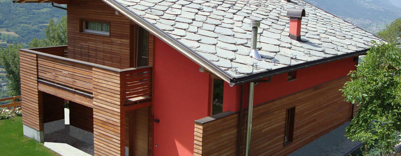 Casas de estilo  por Eddy Cretaz Architetttura,