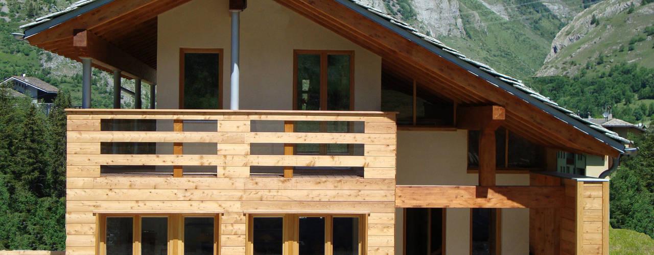 Casas de estilo moderno de Eddy Cretaz Architetttura Moderno