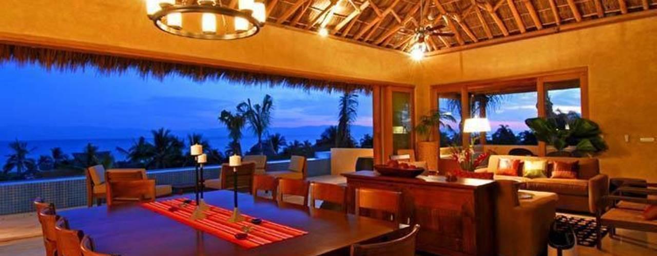 Casa Cariza: Comedores de estilo  por BR  ARQUITECTOS