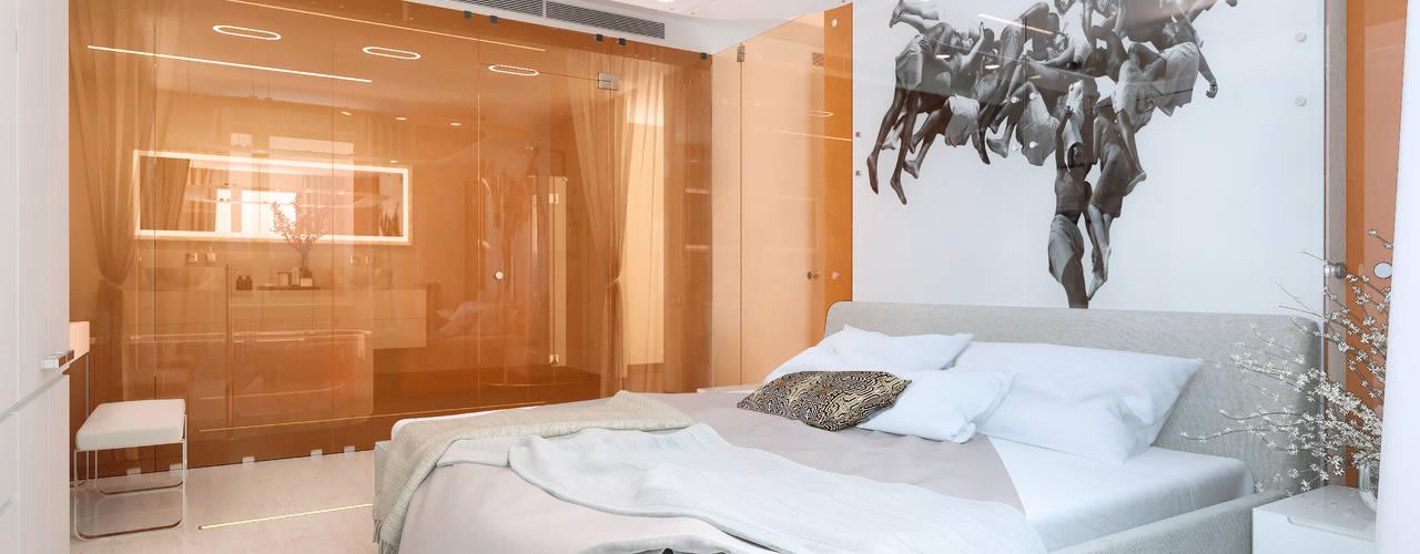 """Квартира в ЖК """"Воробьевы Горы"""":  в . Автор – Архитектурное бюро Лены Гординой"""