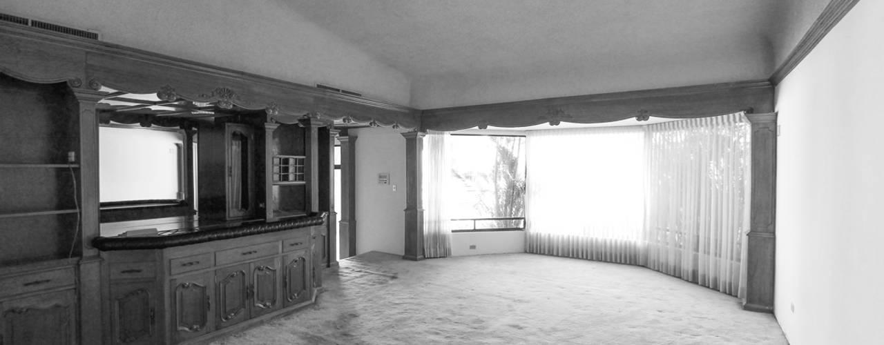 Гостиная в . Автор – Juan Luis Fernández Arquitecto,