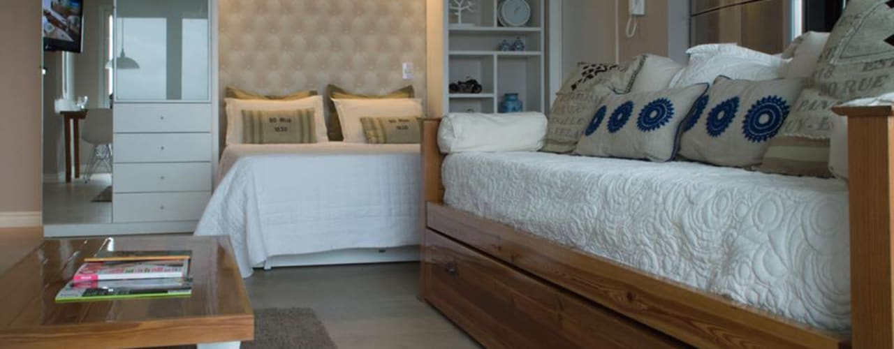 Dormitorios de estilo  por MINBAI, Moderno