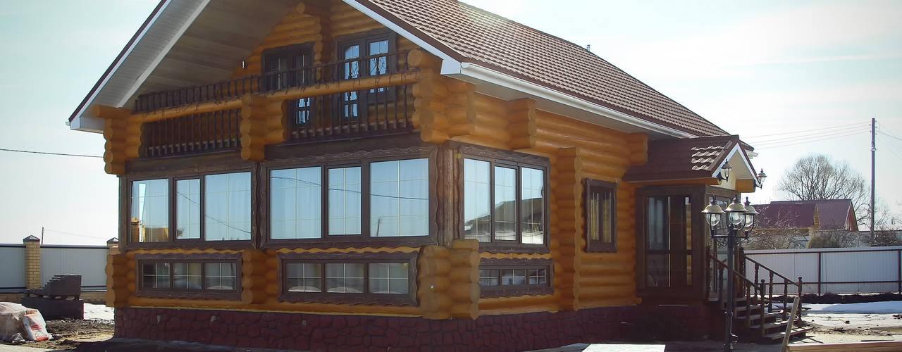 Casas de estilo  por ULJANOCHKIN DESIGN*STUDIO
