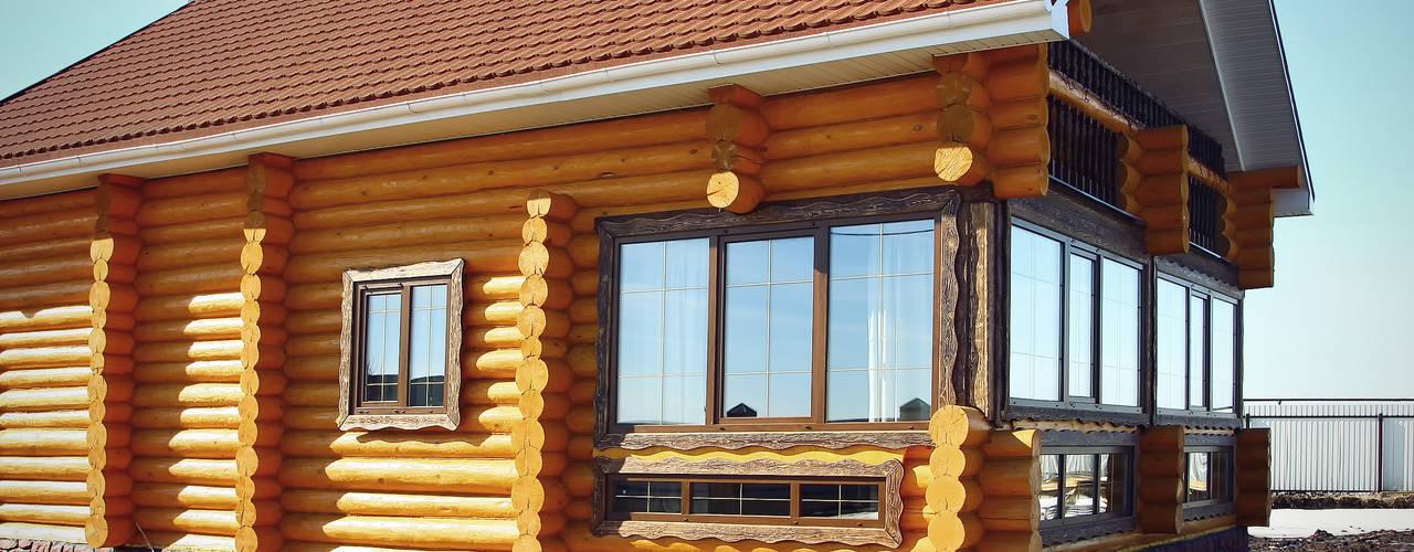 Casas de estilo rural de ULJANOCHKIN DESIGN*STUDIO Rural