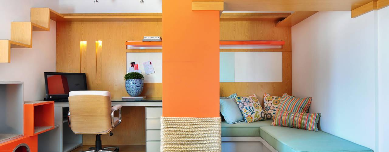 مكتب عمل أو دراسة تنفيذ Thaisa Camargo Arquitetura e Interiores