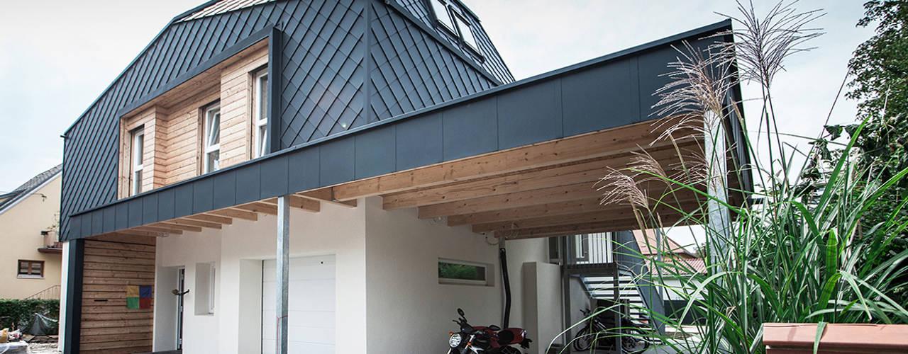 Projekty, nowoczesne Domy zaprojektowane przez Florian Schober Architektur ZT