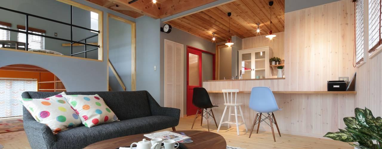 dwarf Scandinavian style living room