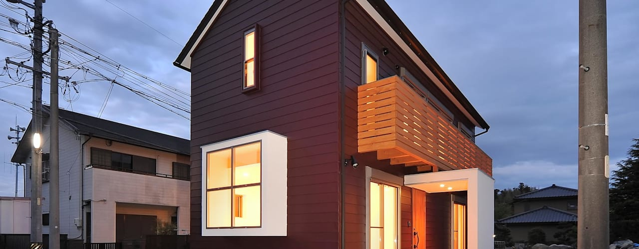Houses by 若山建築設計事務所, Modern