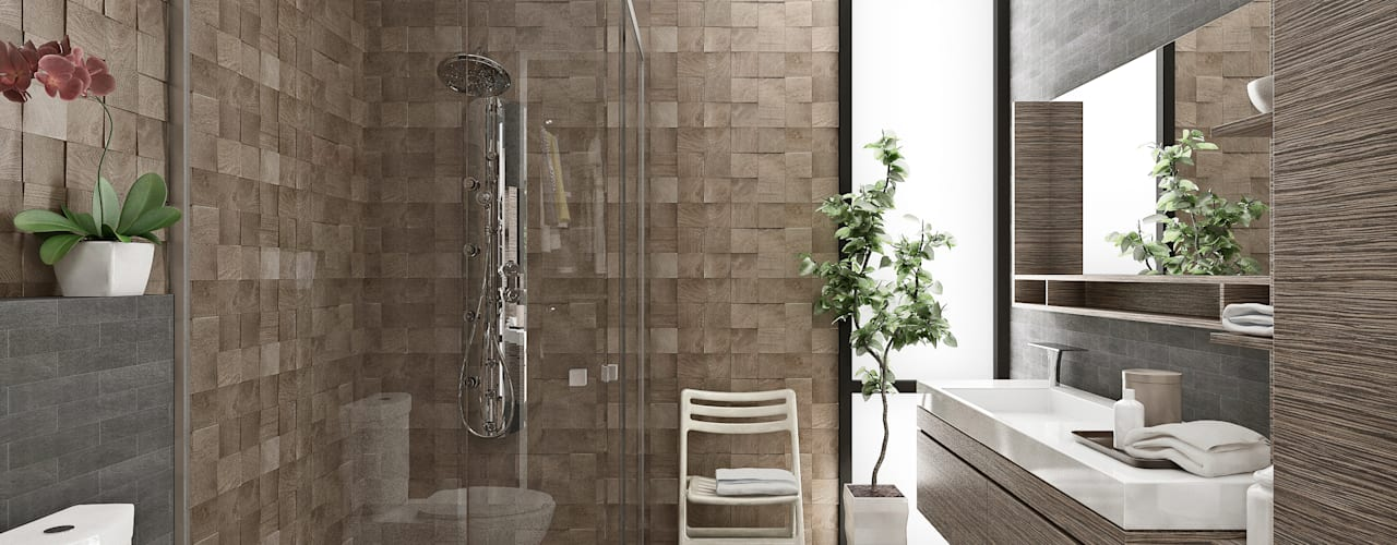 Modern bathroom by Estudio Meraki Modern