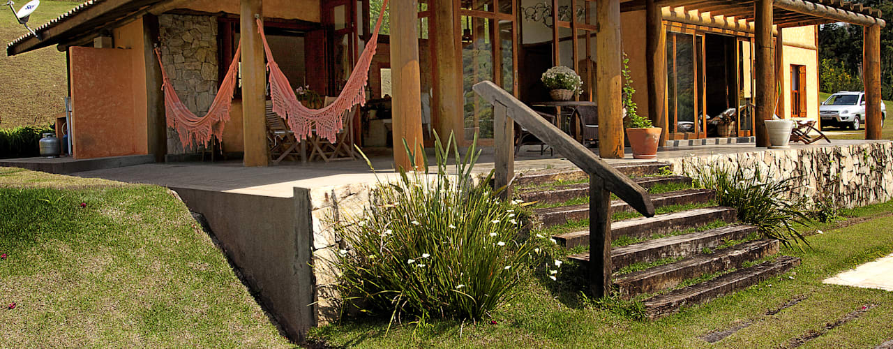 Bianka Mugnatto Design de Interiores Rustikale Häuser