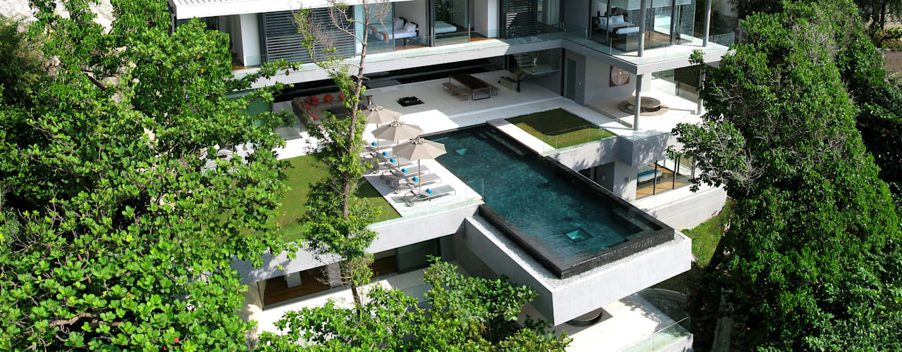 Casas estilo moderno: ideas, arquitectura e imágenes de Original Vision Moderno