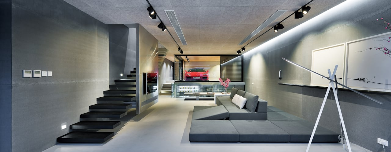 ห้องนั่งเล่น by Millimeter Interior Design Limited