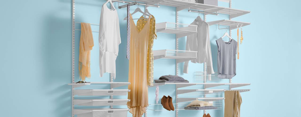 Minimalist dressing room by Elfa Deutschland GmbH Minimalist