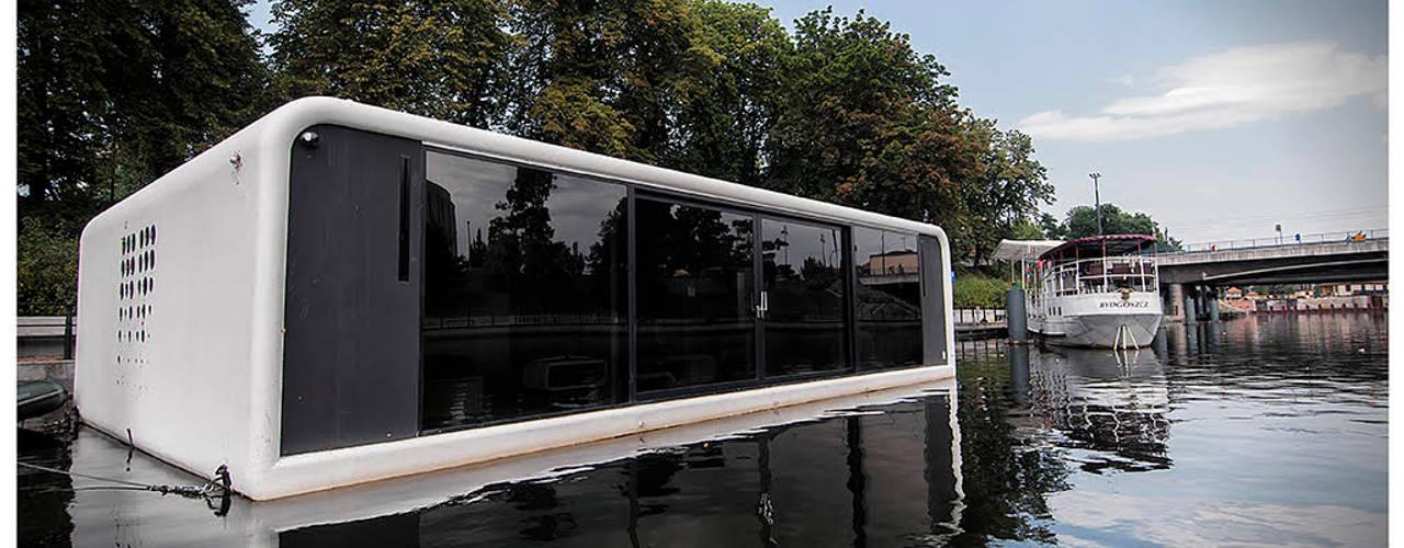 Moderne huizen van floatinghouses Modern