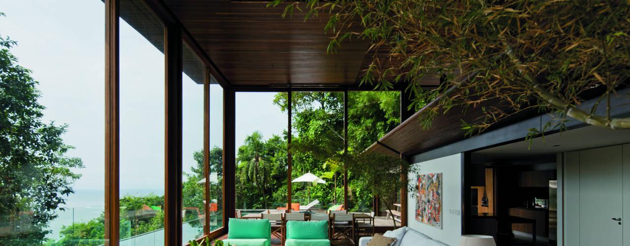 Tropische huizen van Jacobsen Arquitetura Tropisch