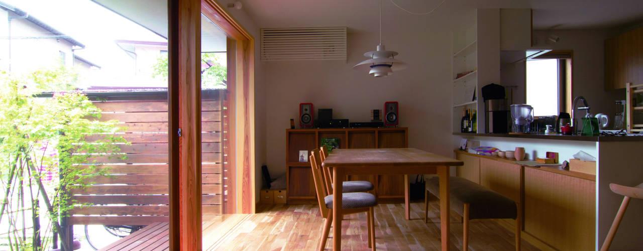 Dining room by 松原正明建築設計室