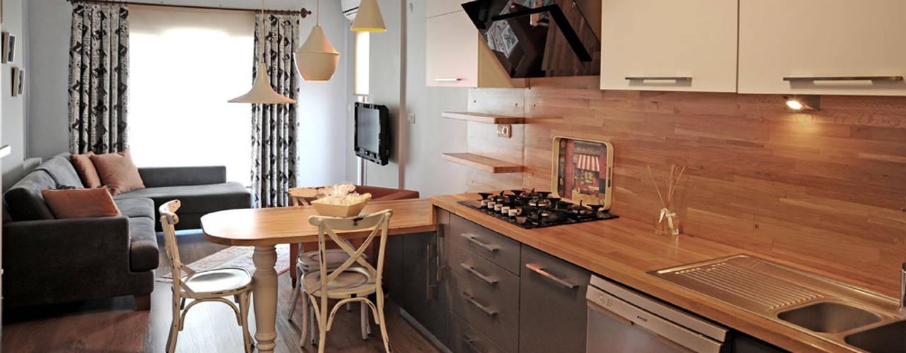 Bilgece Tasarım Modern kitchen