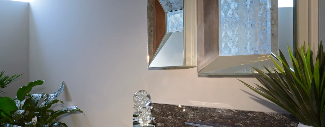 ห้องน้ำ โดย VICTORIA PLASENCIA INTERIORISMO, โมเดิร์น