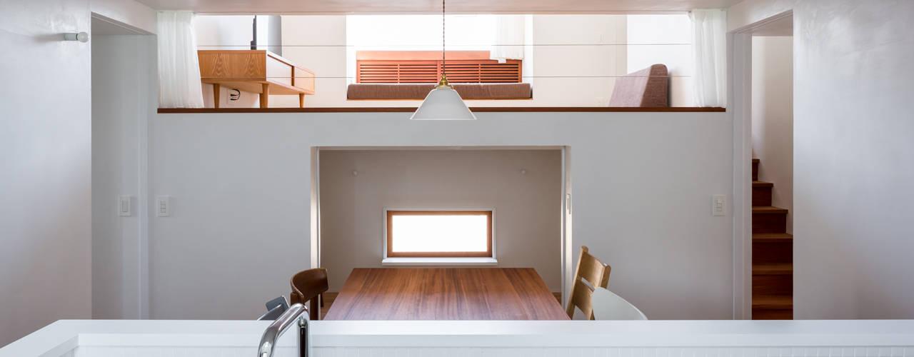 蔵前の家: 吉田夏雄建築設計事務所が手掛けたダイニングです。
