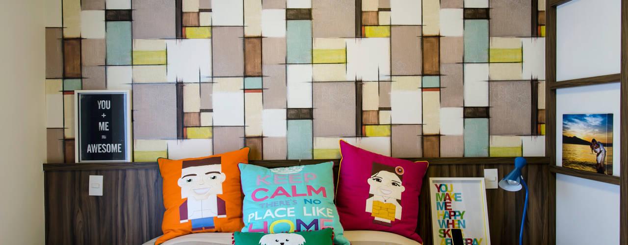 Kamar Tidur Modern Oleh Adriana Pierantoni Arquitetura & Design Modern