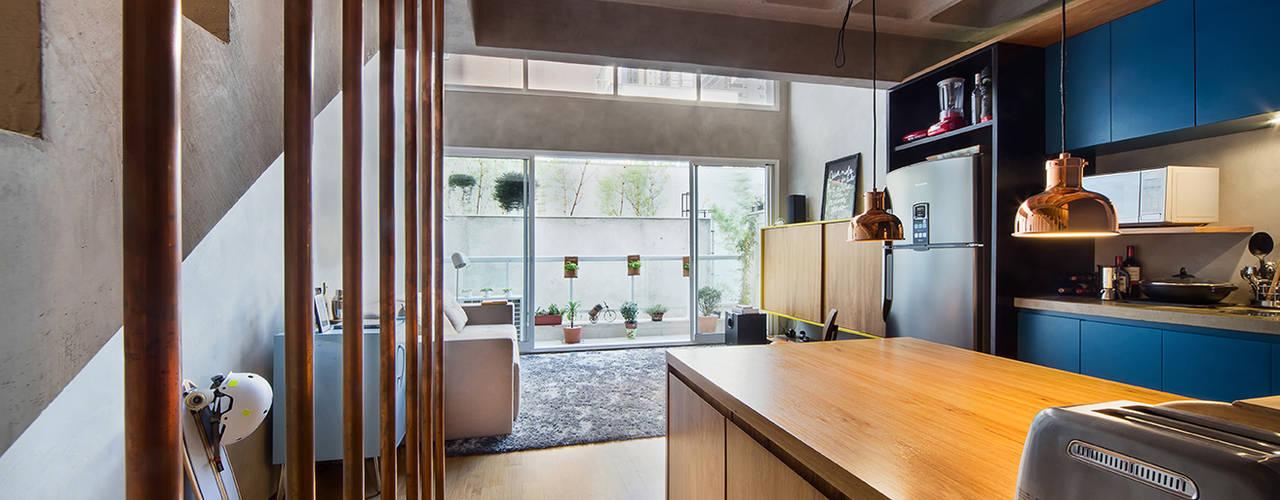 Casa100 Arquitetura:  tarz Mutfak,
