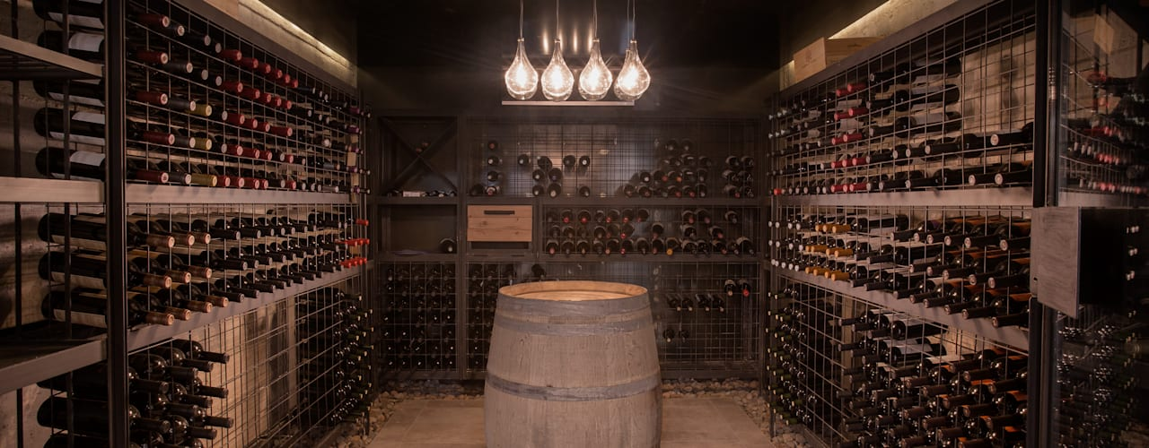 Modern wine cellar by A4estudio Modern