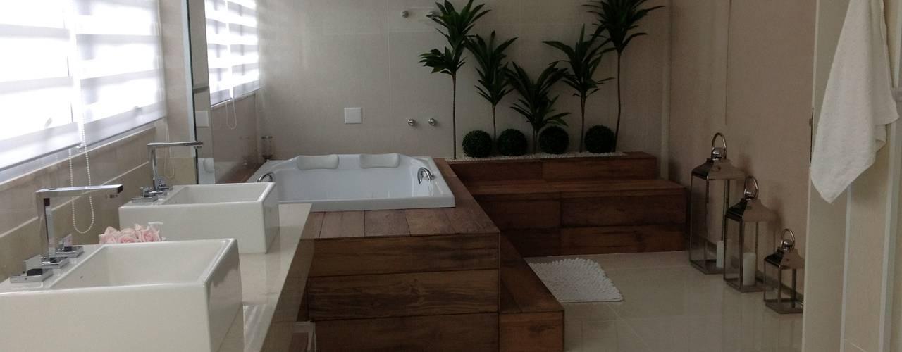 Casa de Praia - Guarujá Bunkerlab arquitetura, design, ...+ Banheiros modernos