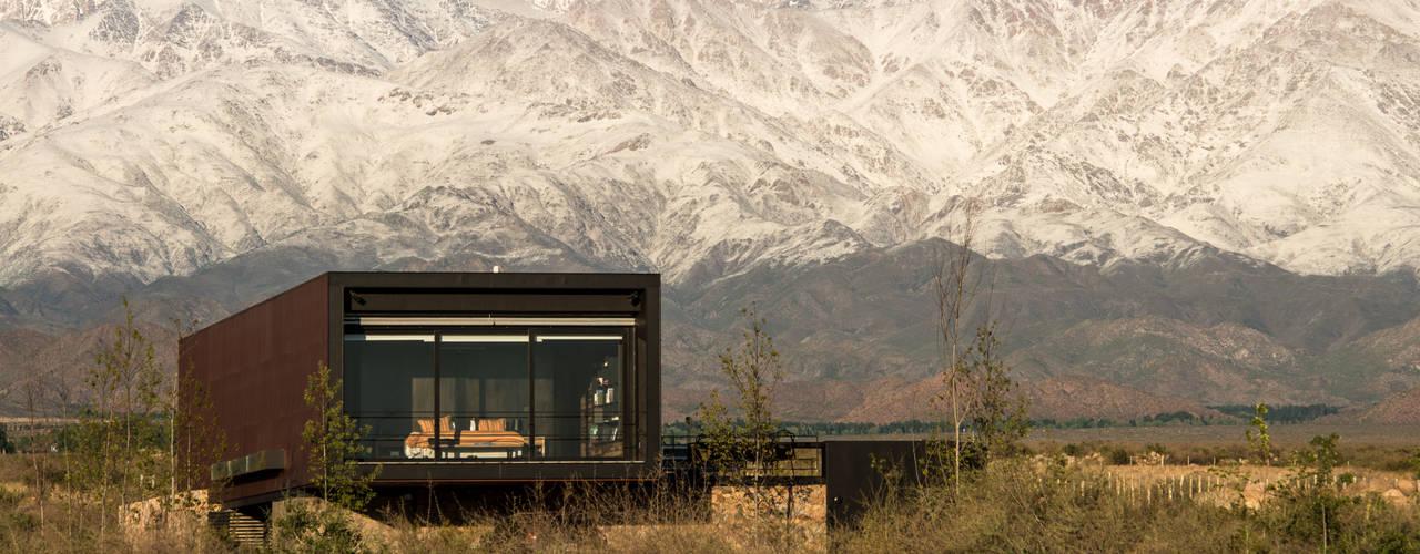 Casa Evans Casas modernas: Ideas, imágenes y decoración de A4estudio Moderno