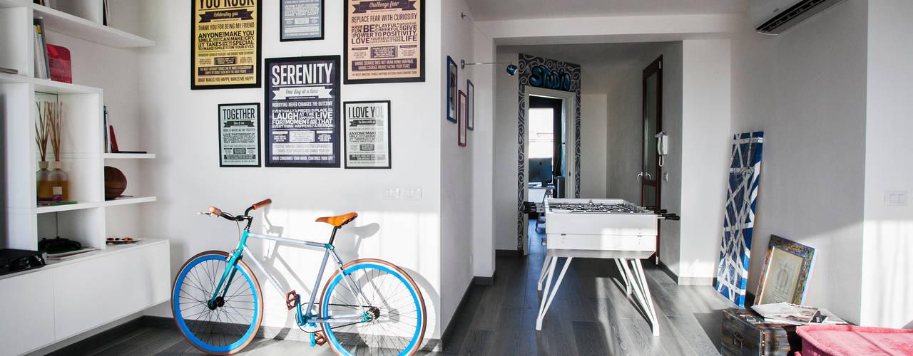 Phòng khách phong cách Địa Trung Hải bởi Alessandro Corina Interior Designer Địa Trung Hải