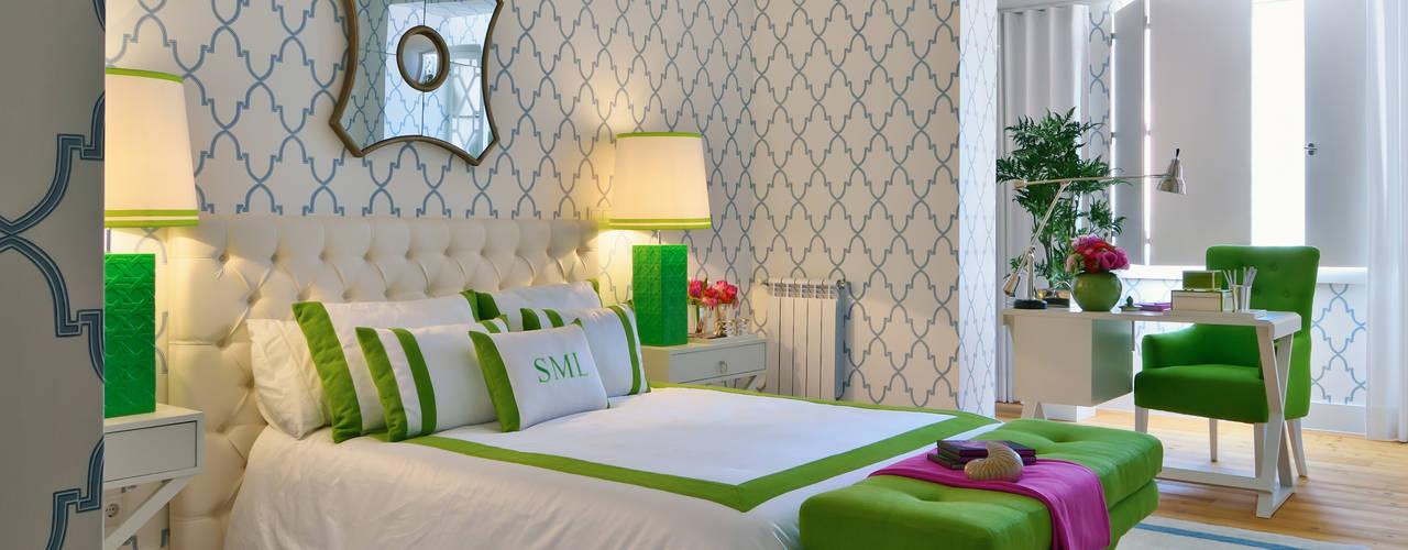 Спальня в стиле модерн от Prego Sem Estopa by Ana Cordeiro Модерн