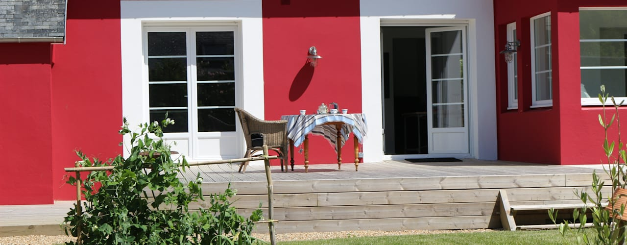 Casas estilo moderno: ideas, arquitectura e imágenes de Ad Hoc Concept architecture Moderno