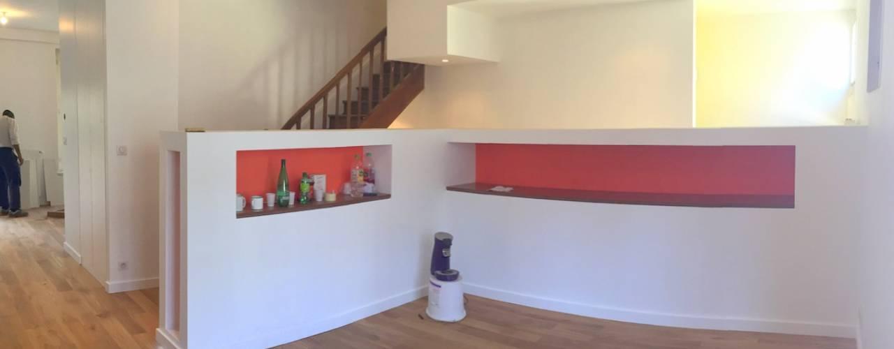 Ruang Keluarga Modern Oleh 3B Architecture Modern