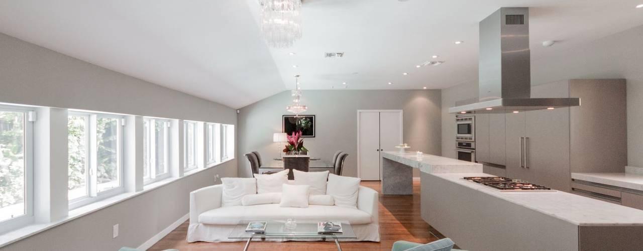 Modern Living Room by Elías Arquitectura Modern