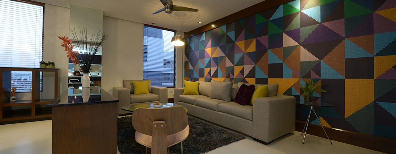 Salas de estar  por ESTUDIO TANGUMA