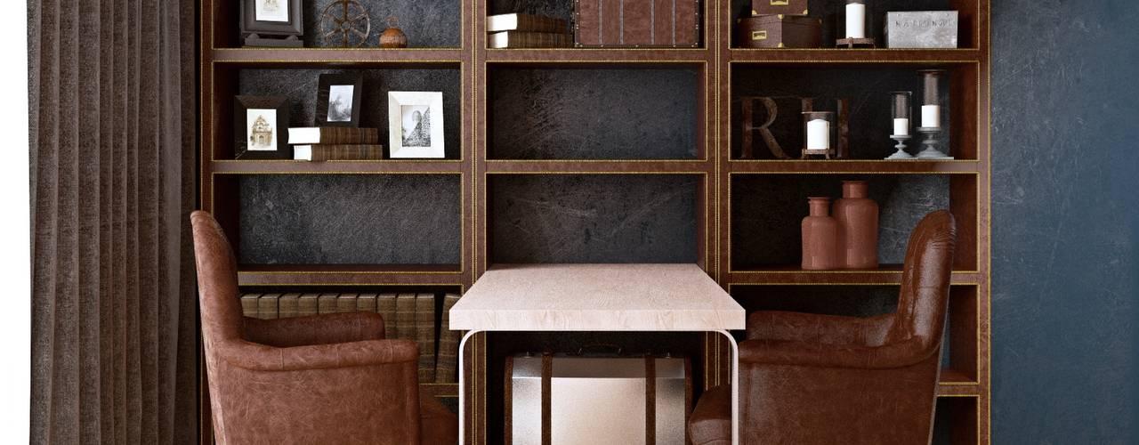 Luxury minimalism MC Interior Рабочий кабинет в стиле минимализм