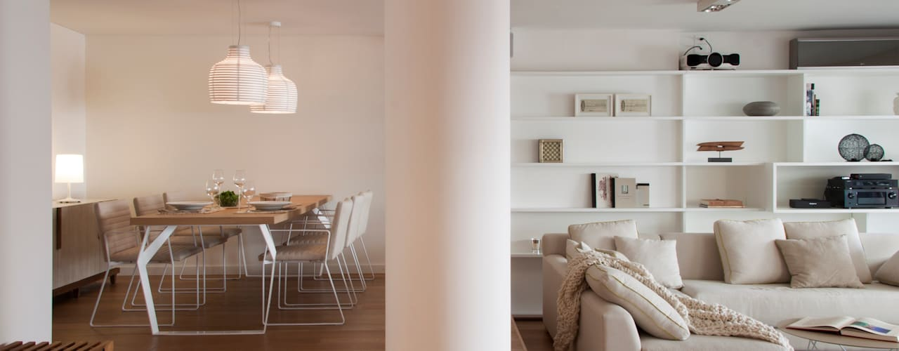Ruang Keluarga Modern Oleh Paula Herrero | Arquitectura Modern