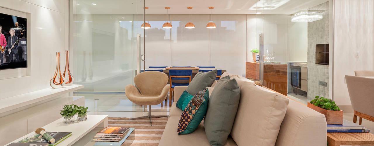 Apartamento Holanda Salas de estar modernas por Carmen Calixto Arquitetura Moderno