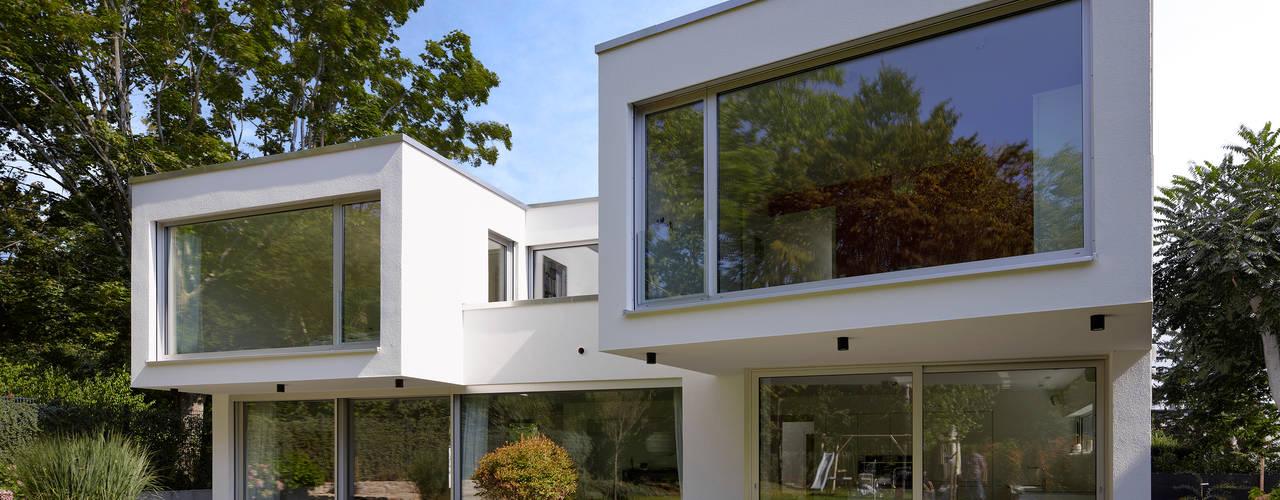 Moderne huizen van Marcus Hofbauer Architekt Modern