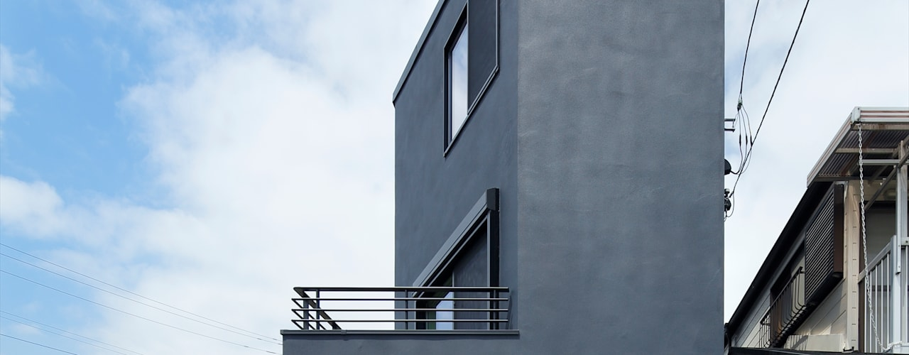 向山建築設計事務所의  주택, 모던