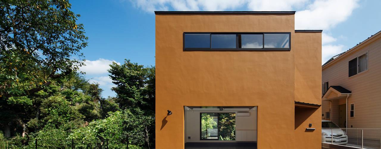 Houses by 向山建築設計事務所, Modern