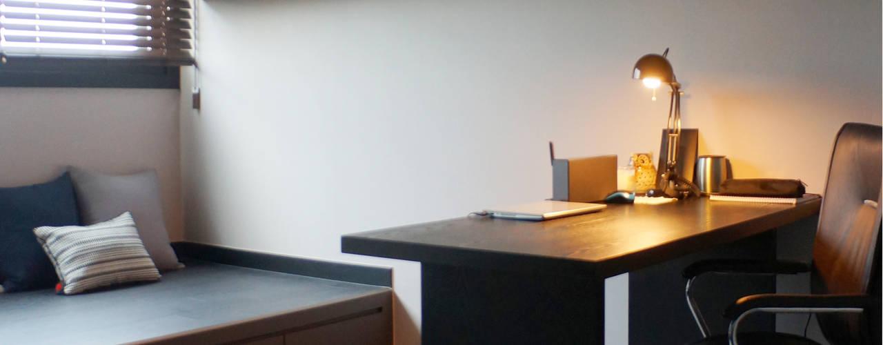 Studeerkamer/kantoor door 마르멜로디자인컴퍼니
