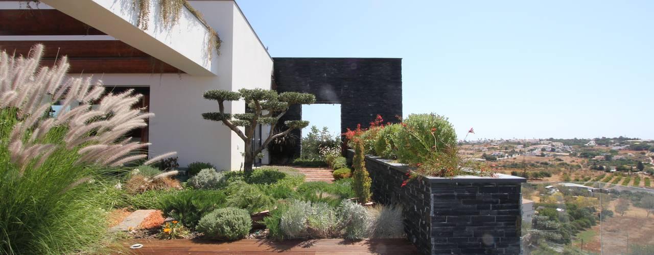 Modern Garden by Riscos & Atitudes, Lda Modern