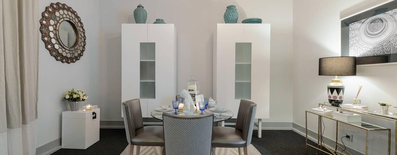Modern dining room by Preto Marfim Modern