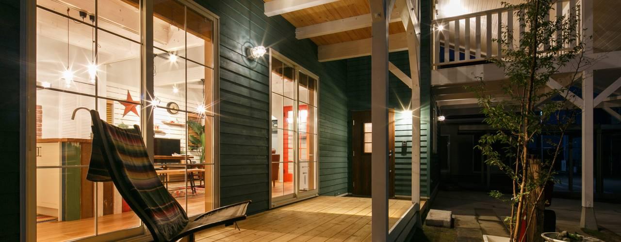 H's HOUSE dwarf クラシックデザインの テラス