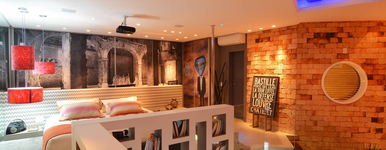 Dormitorios de estilo rústico de ANNA MAYA ARQUITETURA E ARTE Rústico