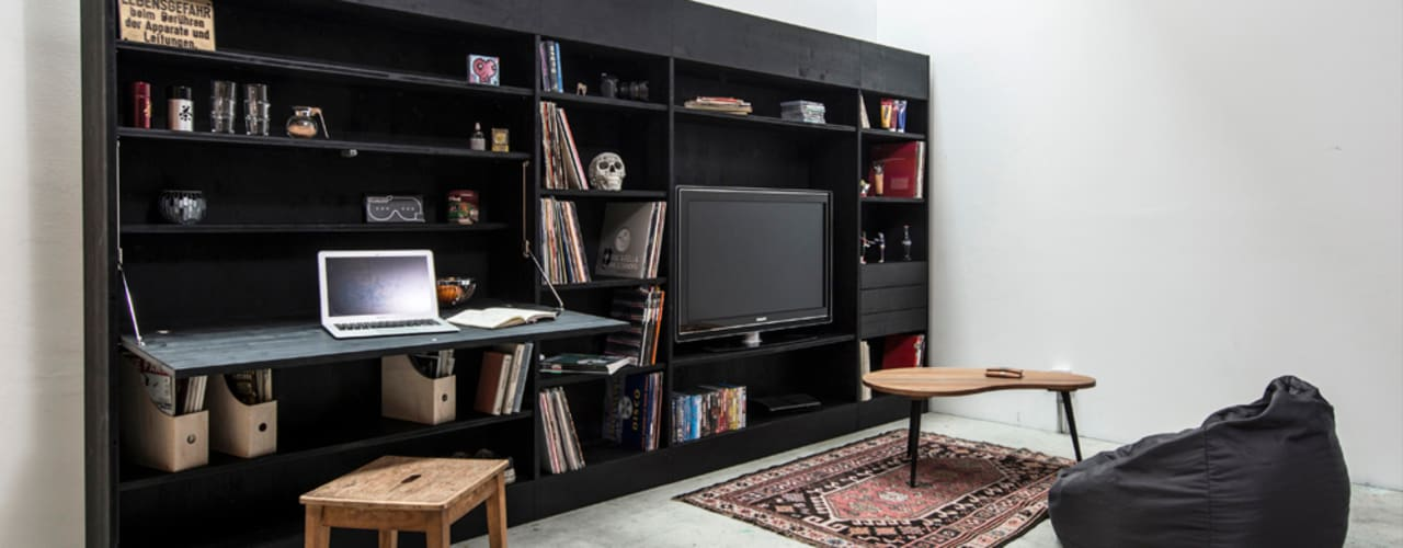 Till Könneker Living roomStorage Black