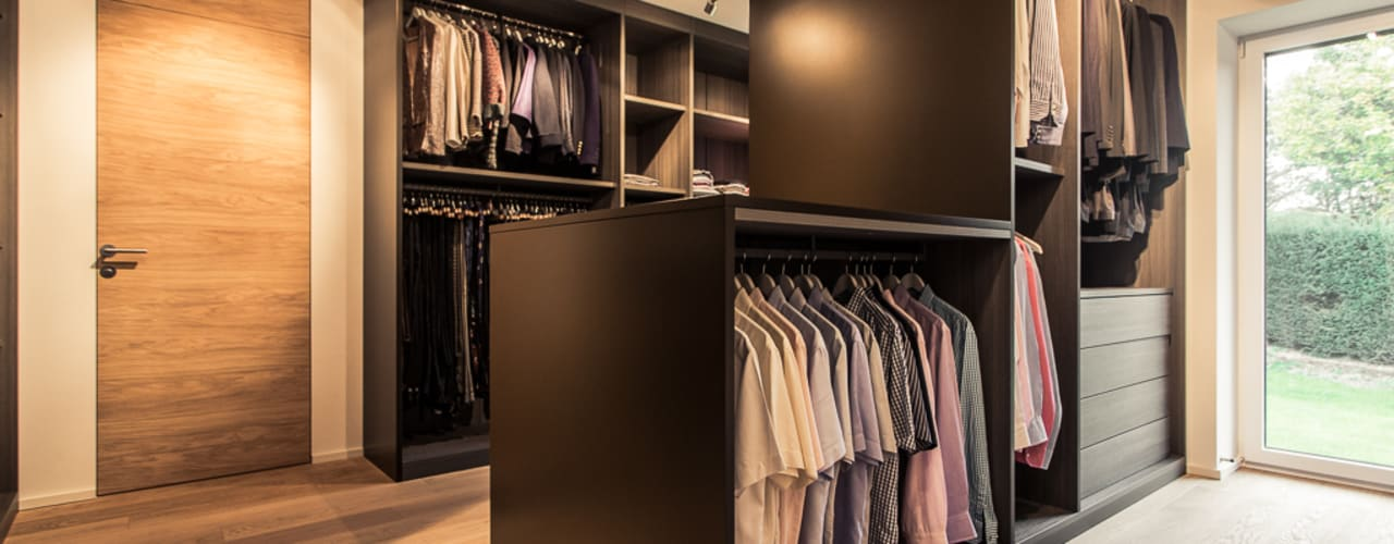 Dressing room by Meissl Architects ZT GmbH