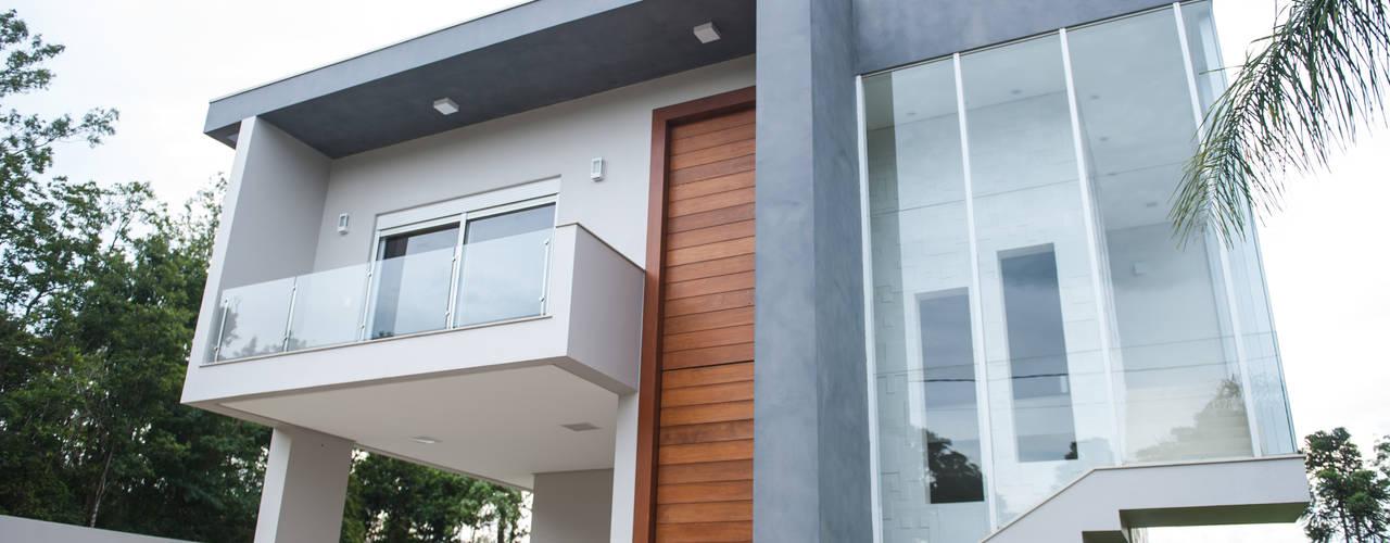 Residência Santa Cruz do Sul - RS d´ Ornellas Arquitetura e Construção Casas modernas